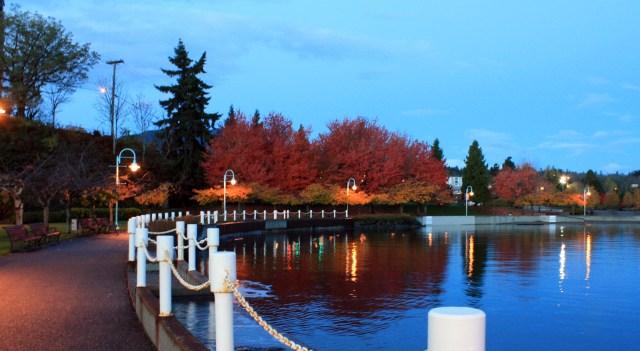 Just before 7:00am - Maffeo Sutton Park - Nov 7th