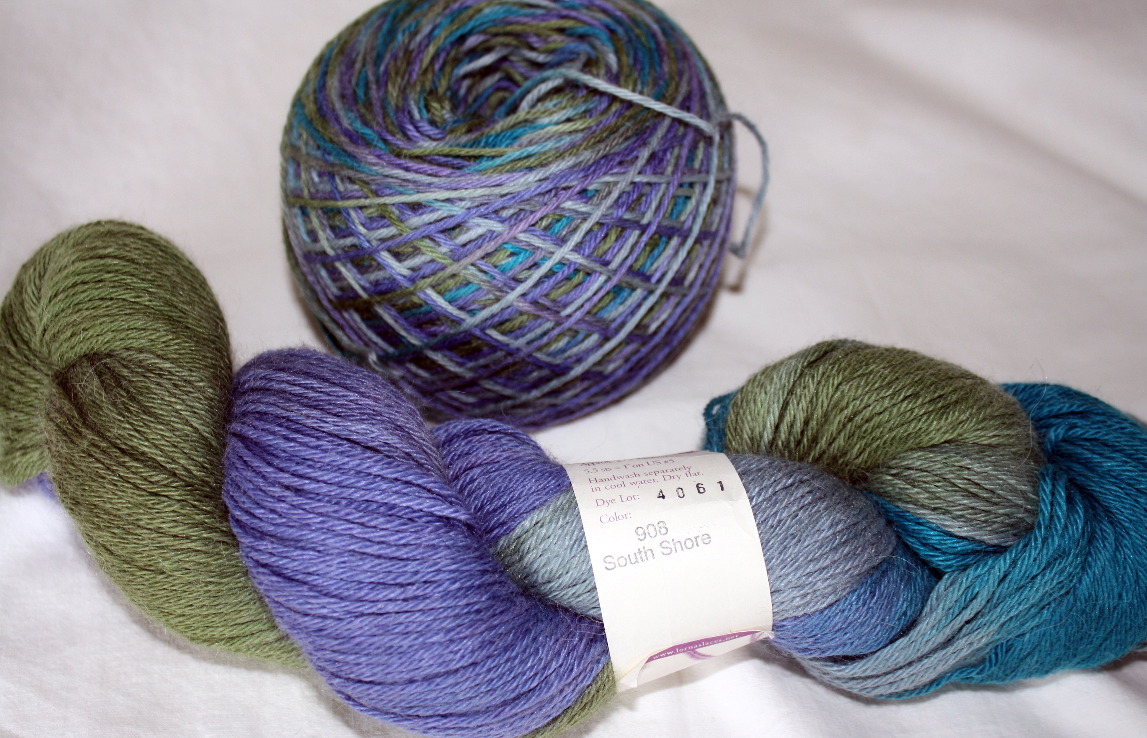 Hand Dyed Yarn : ... yarn gives a much better idea of how your hand-dyed yarn will look