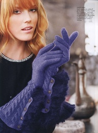 Gloves for Vogue - photo credit Rose Callahan