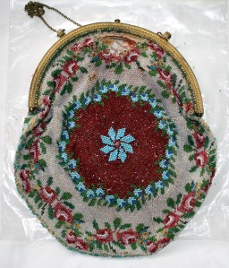 Napier-Hemy beaded bag - circa late 18oo's - personal collection Lynette Meek.