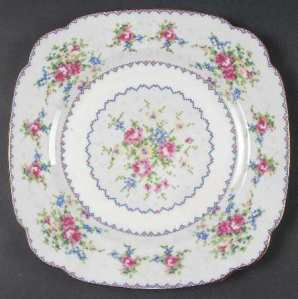 Royal Albert Petit Point Plate.