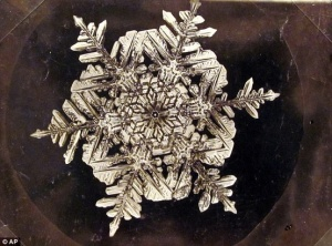 A farmer in the 19th-century, Wilson Bentley became famous for photographing more than 5,000 jewel-like snowflakes. Bentley, also known as The Snowflake Man, was fascinated with the icy precipitation, and he was able to capture one on film in 1885.