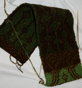 Retreat Double Knit Scarf.