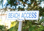 Beach Access almost always seems to mean a very long flight of stairs for incredible views and beach only at low tide!