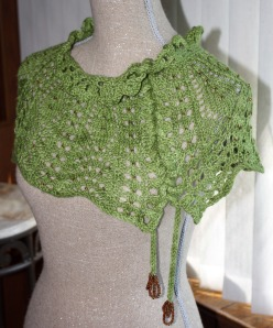 "Moss version of ""April Showers"".  This was me working out the design."
