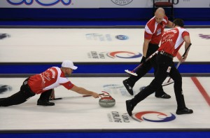 Curling - what I was watching.