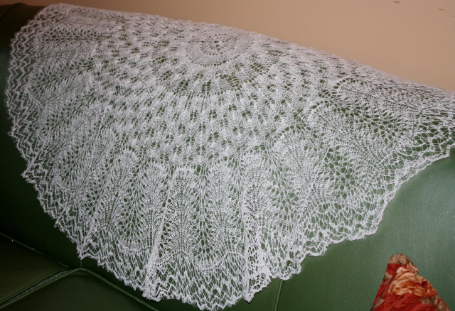 Details of the Ring Shawl