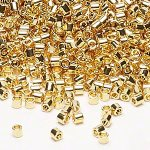 Size 8/0 Delicas 24K gold finish - on their way!