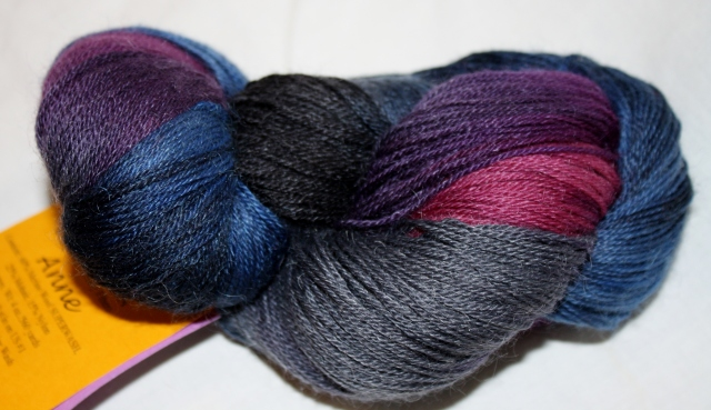 Anne - the colourway is Mary Walker Phillips.  I loved the way that Schaeffer yarns named their colours after famous women.