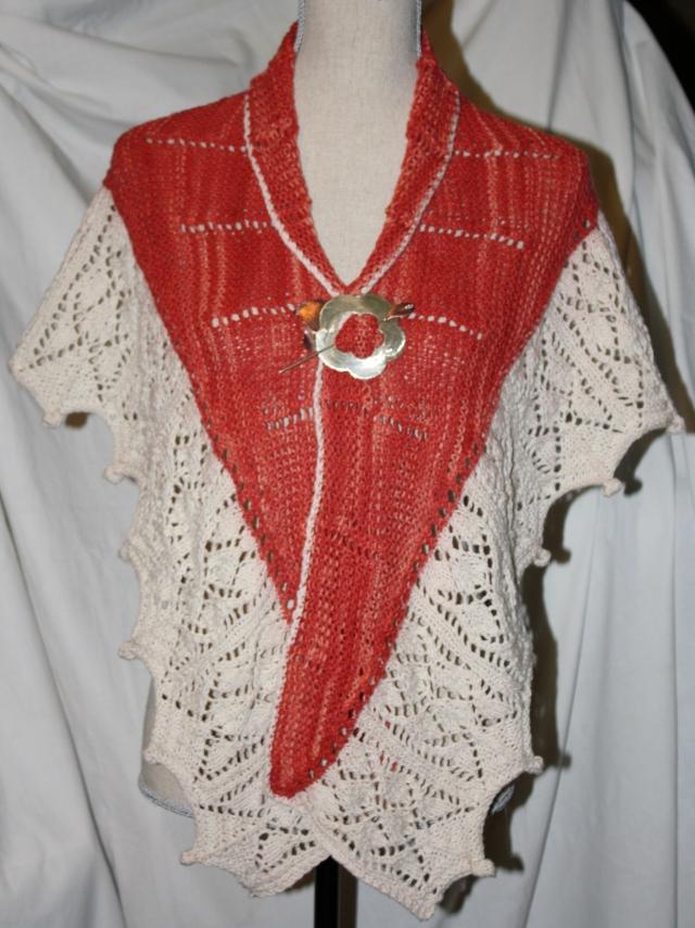 My Mojo Shawl - Knitting restored to normal!