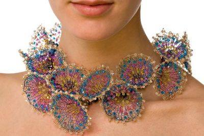 Joan Dulla - Knitting Relay!  So beautiful!
