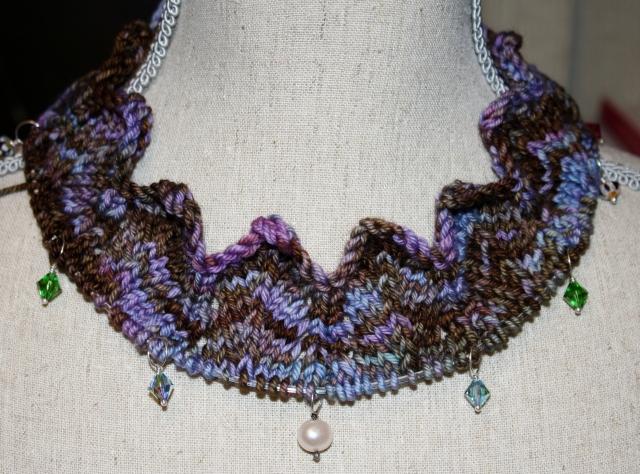 A pretty neckline.