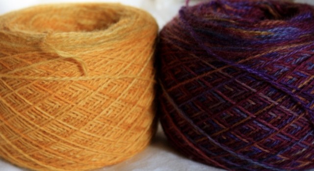Amber and Nightshade colourways - Brilliant!