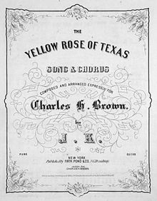 Dated 1858, this was arranged for a contemporary Vaudeville entertainer.