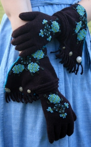 Turtle Flower Gauntlets