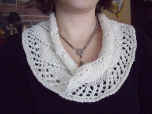 Cat Bordi's free Moebius Pattern - a simple, classic collar.
