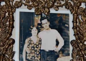 Elizabeth and Robert Baptie, Nanaimo in the early twenties.