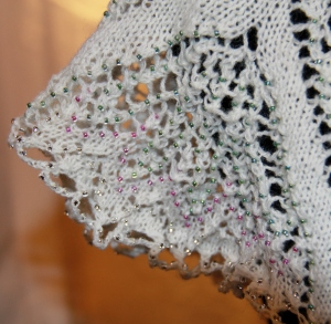 Bead and Lace details