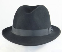 Buffalo Wool Co felt Fedora!