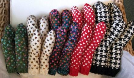 Thrummed mittens for Knit City Oct 2014
