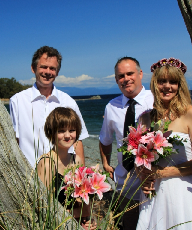 The Wedding Party at Pipers Lagoon.