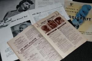 Vintage knitting books!