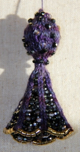 Tassel detail - first one - may make some changes.
