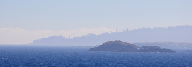 Looking over towards Gabriola Island.