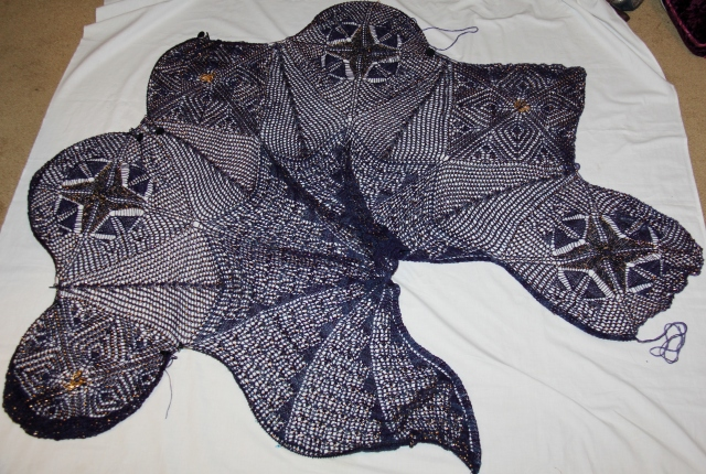 Rhiannon's Cloak - 6 motifs attached!