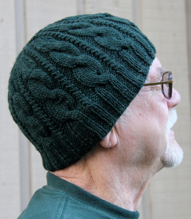 Dad's Classic Toque - my Father's Christmas Present - that is him modelling.  http://www.ravelry.com/patterns/library/dads-classic-toque