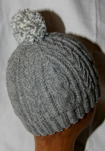 Winter Skies - a simpler hat for the Retreat.