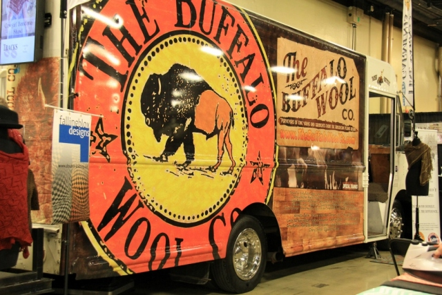 The Buffalo Wool Co's Miss Betsy - a travelling store.