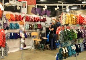 Lost City Knits Booth