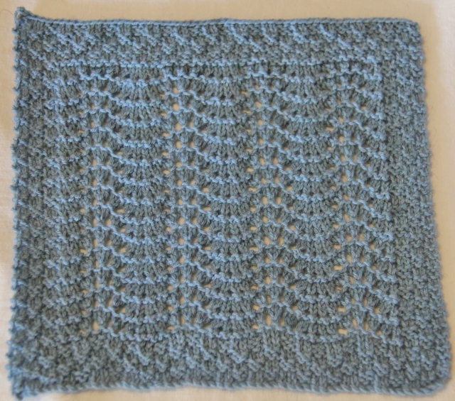I love the texture and movement of these stitches together - I may have make another one in a different colour!