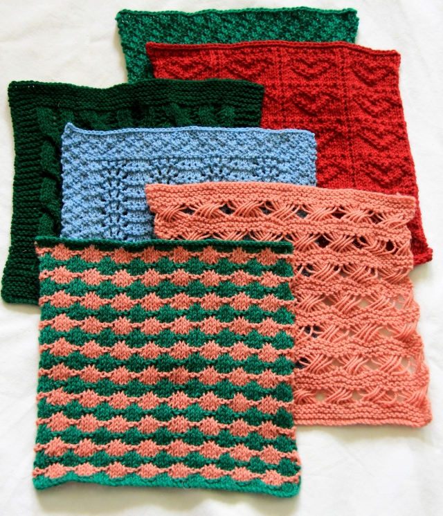 Six square so far for my blanket - starting to have more fun with the selection of colours we have now!